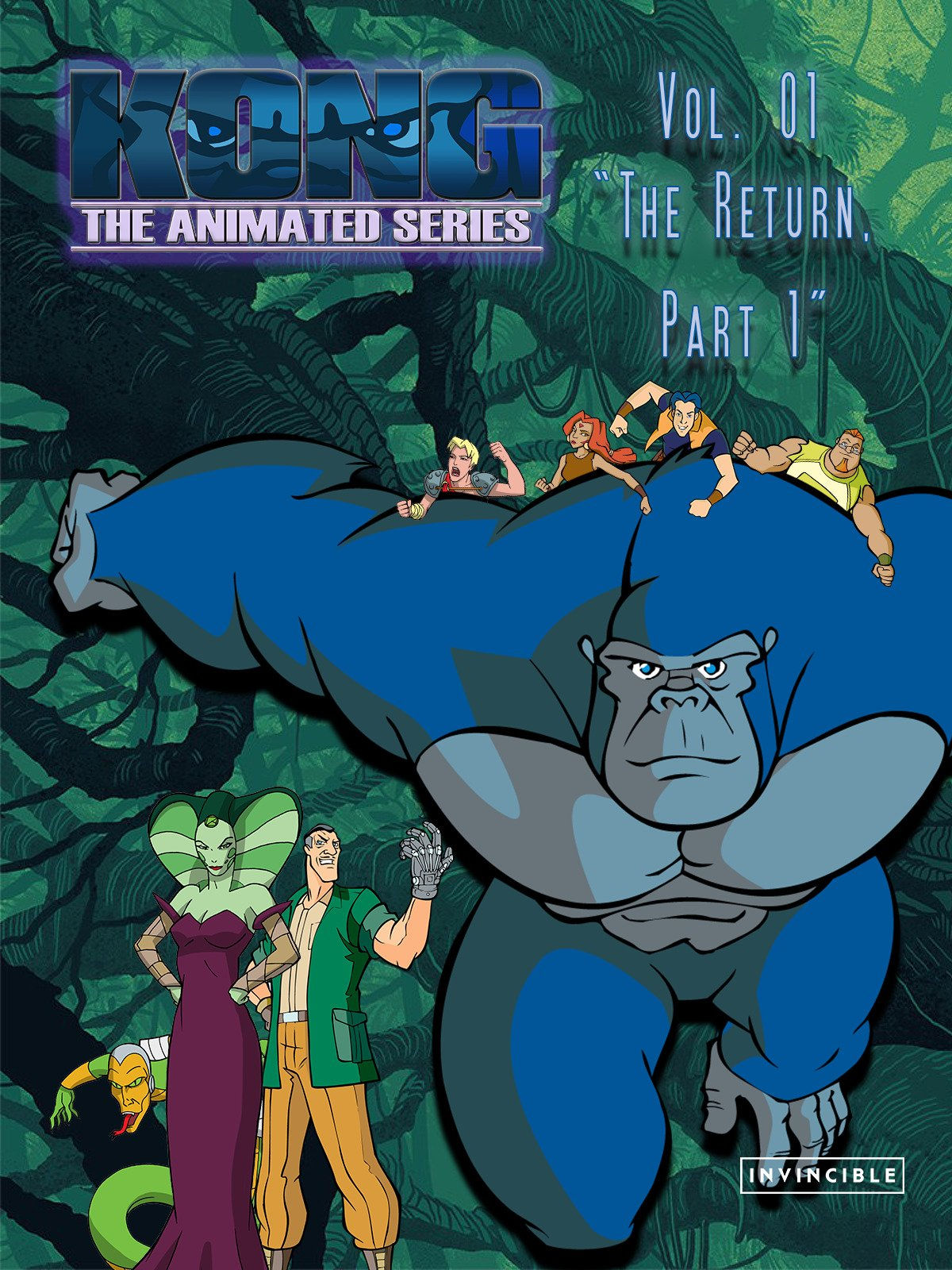 Kong The Animated Series Vol. 01The Return, Part 1 on Amazon Prime Video UK