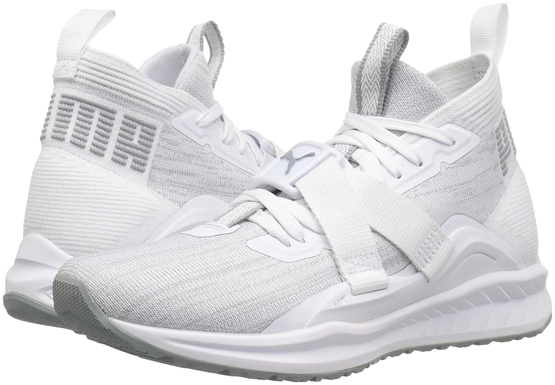 PUMA Women's Ignite Evoknit 2 Wn Sneaker B071GL6GRQ 11 M US Puma White-quarry