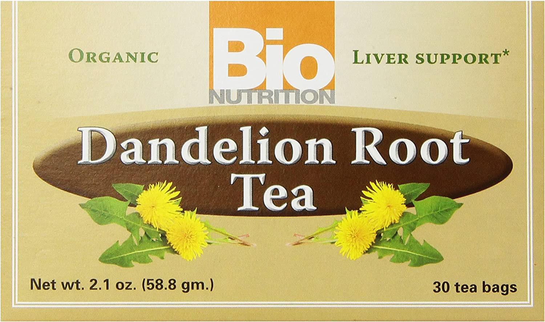 Bio Nutrition Dandelion Root Tea Bags, 2.1 Ounce
