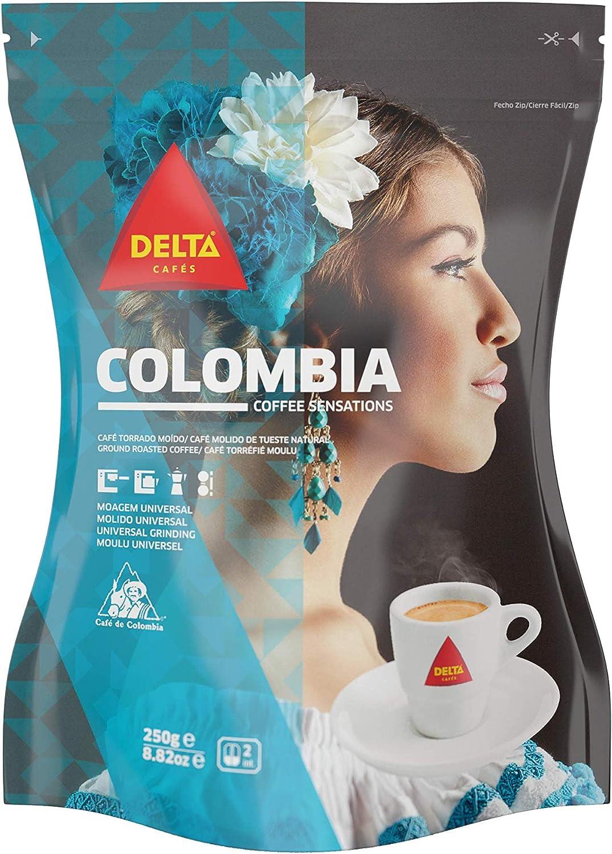 Café Torrado e Moído Colômbia Delta 250g por DELTA Q