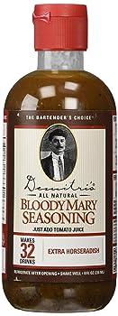 Demitri's Extra Horseradish 8-ounce Bottle Bloody Mary Mix