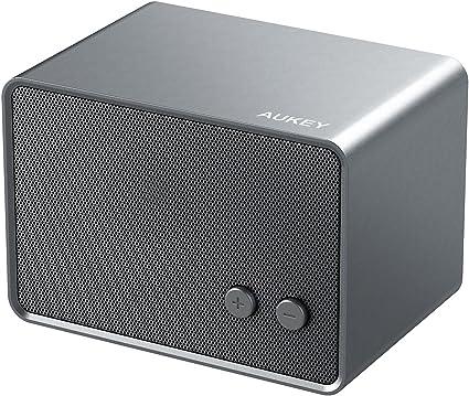 AUKEY Mini Altavoz Bluetooth Portátil Recargable 3W Sonido Estéreo ...