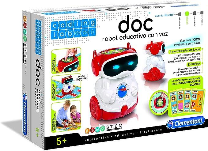 Amazon.es: Clementoni - Doc el Robot (Clementoni 55176.7)