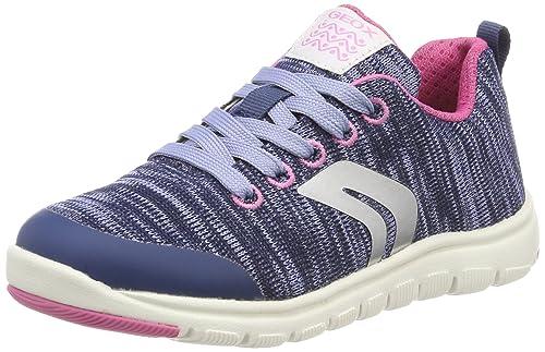 Geox J Xunday C, Zapatillas para Niñas: Amazon.es: Zapatos y complementos