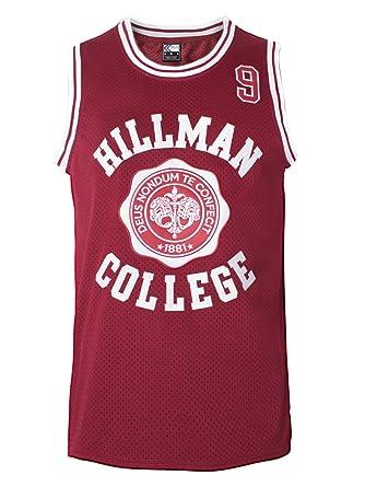 "Amazon MOLPE Wayne 9"" Hillman College Basketball Jersey S XXXL"