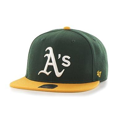 47 Unisexe Mlb Oakland Athletics Casquette De Baseball Que Capitaine De Tir 47 Marque fGctJ0ib0L
