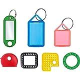 Schlüsselkennzeichnung / Sortimentauswahl für gängige Schlüssel (30 Stück) unterschiedlicher Art - farbig sortiert (Standardfarben)
