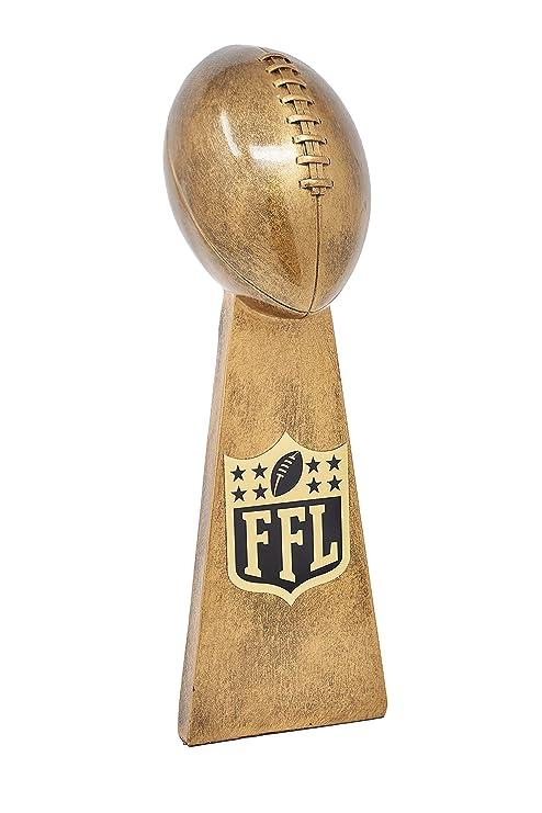 a19880cc4d6 Fantasy Bros Ultimate Fantasy Football Trophy By Fantasy League Winner s  Cup Lombardi Trophy Elegant   Durable
