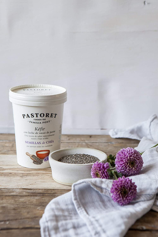 Pastoret - Kéfir con Semillas de Chía, 500 g: Amazon.es ...