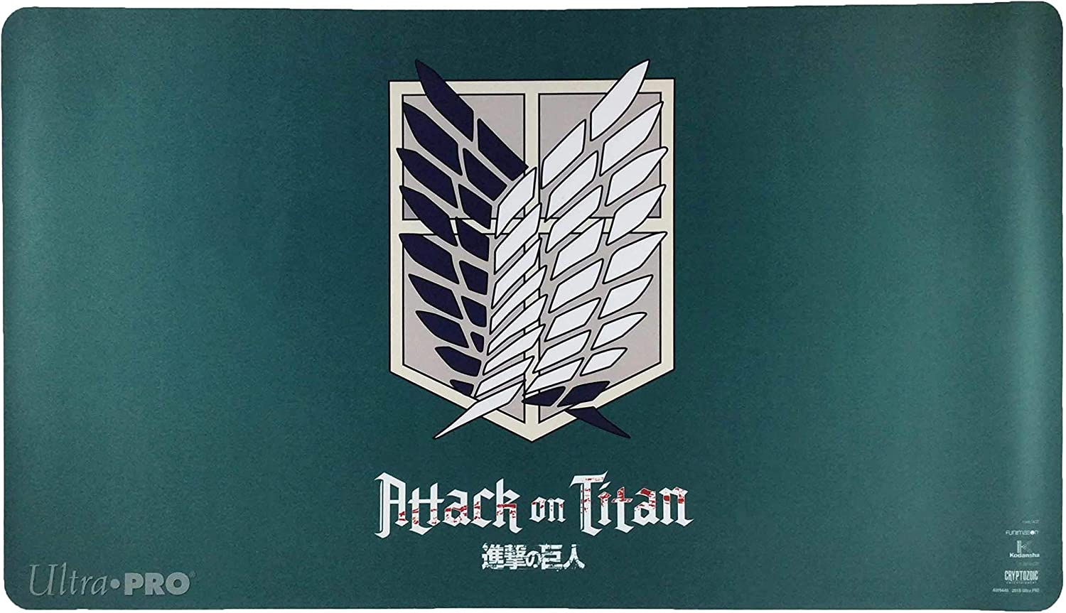 Amazon Com Attack On Titan Playmat The Survey Corps Toys Games
