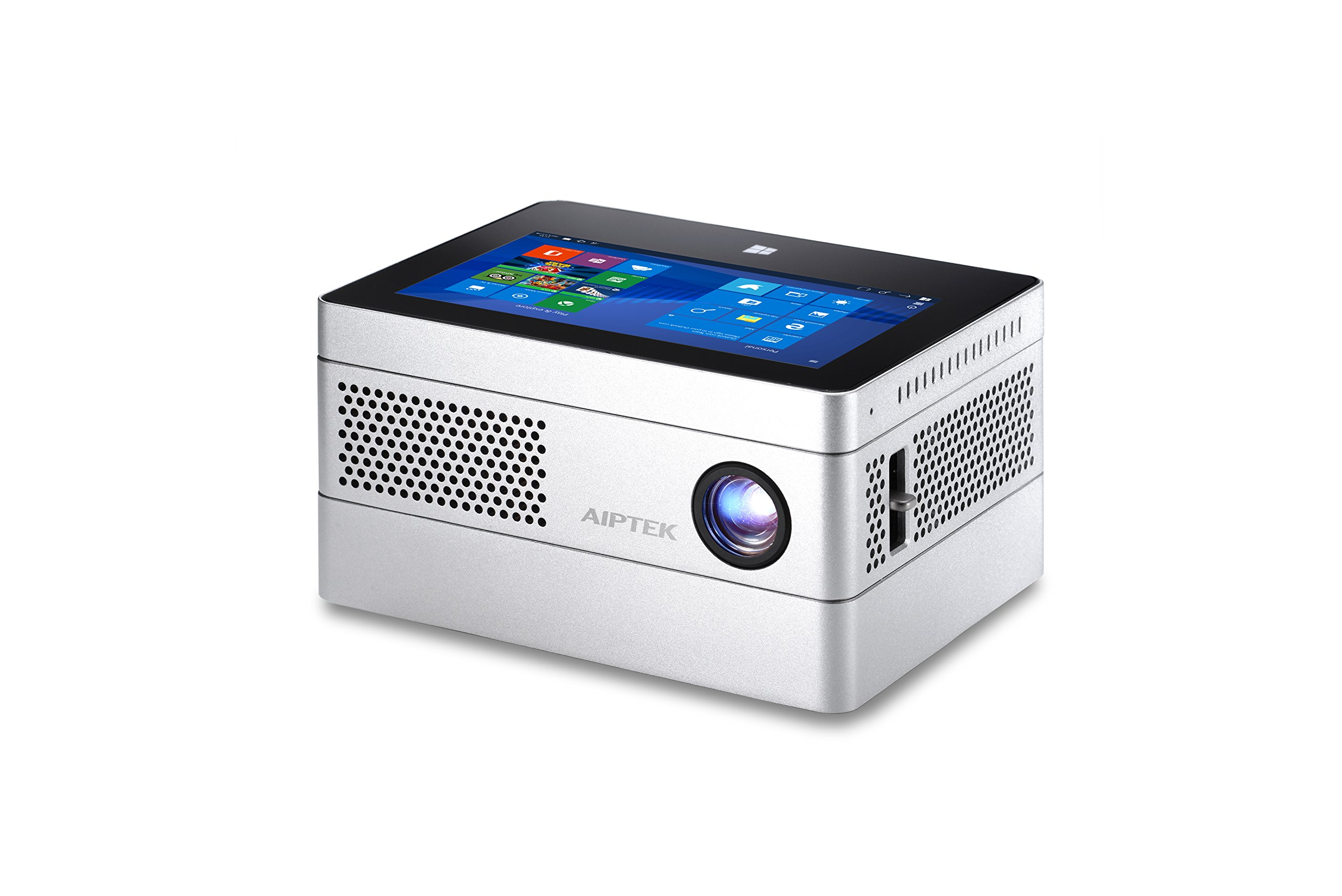 AIPTEK iBeamBLOCK world's first modular computing projection system, HD projector with Win 10 tablet - iF Design Award 2017 Winner