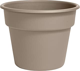 "product image for Bloem DC10-83 Dura Cotta Planter 10"" Pebble Stone"