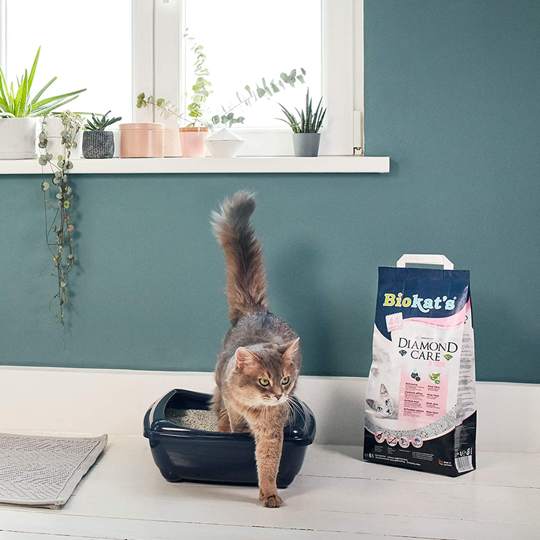 Biokats Diamond Care Fresh, arena para gatos con fragancia ...