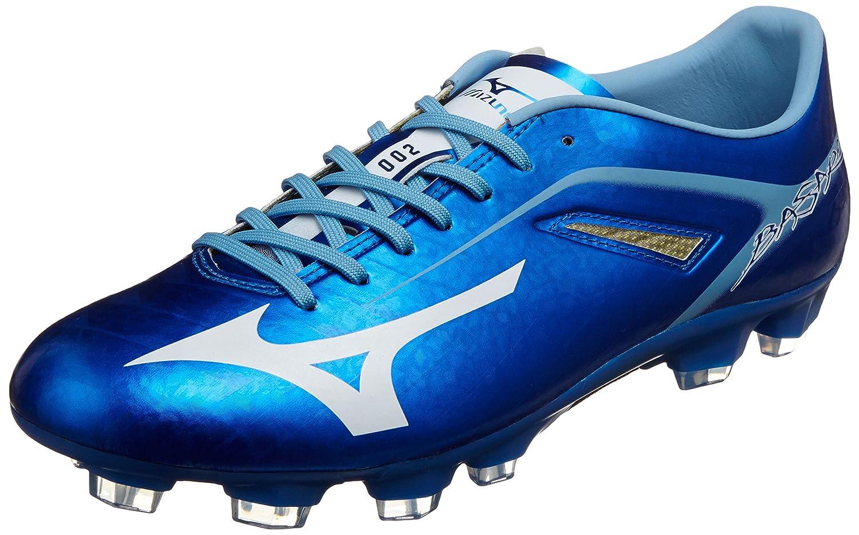 [ミズノ] サッカースパイク バサラ 002 MD (旧モデル) B00L4ZG612 22.0 cm|ブルー/ホワイト ブルー/ホワイト 22.0 cm