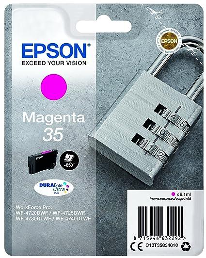 Epson DURABrite Ultra Ink, Cartucho de Tinta para Impresoras, 35 ...