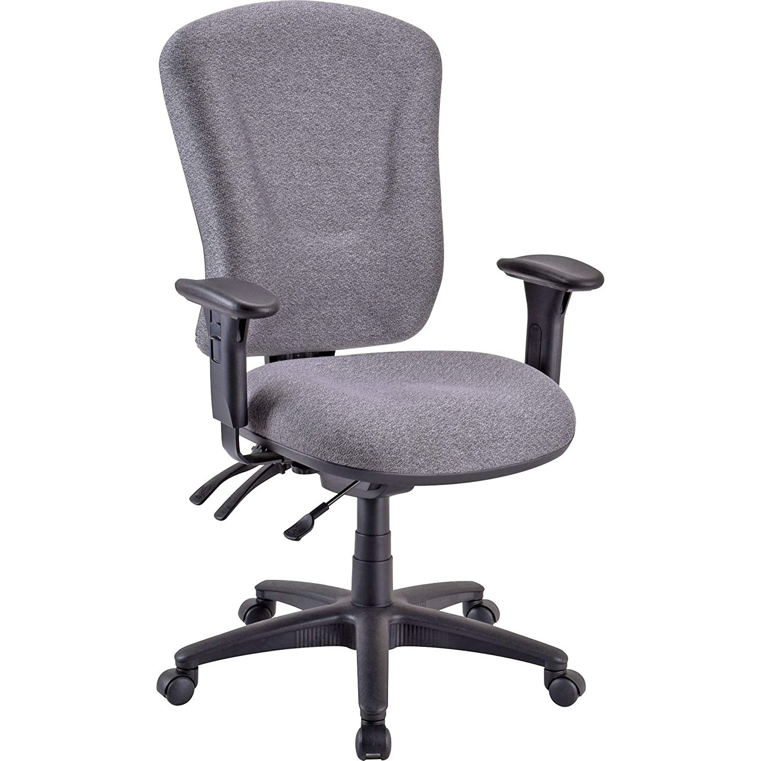 Lorell LLR66150 Accord Office Chair Gray