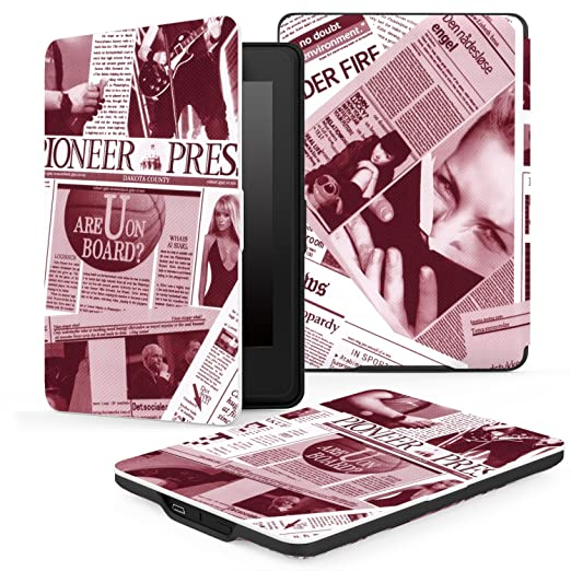 can you  newspapers on kindle paperwhite