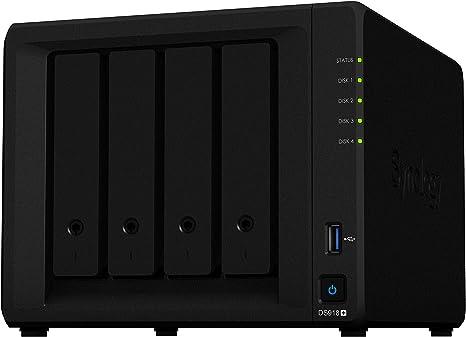 Synology DS918+ NAS Escritorio Ethernet Negro - Unidad RAID (32000 ...