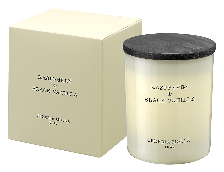 Cerería Mollá Boutique - Vela en vaso, cera vegetal, aroma a Raspberry and Black Vanilla Cereria Molla