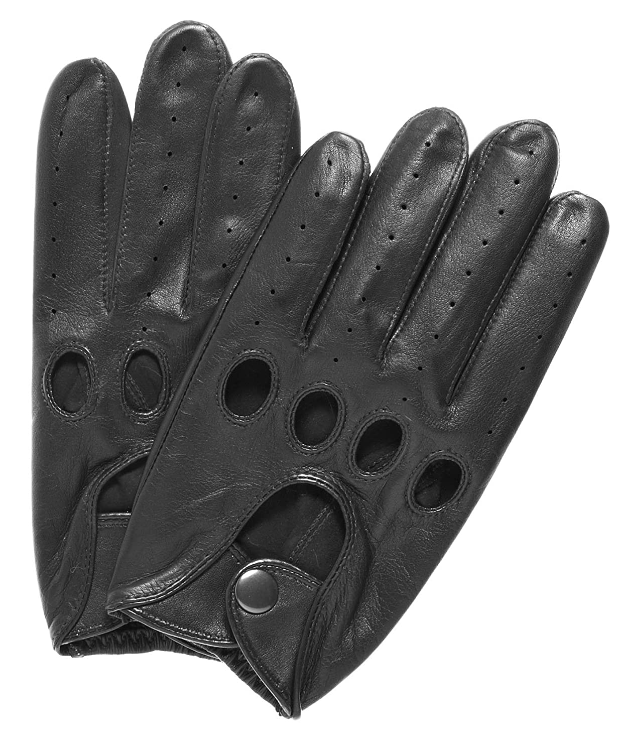 Leather driving gloves mercedes - Pratt And Hart Traditional Leather Driving Gloves Size S Color Black At Amazon Men S Clothing Store Cold Weather Gloves