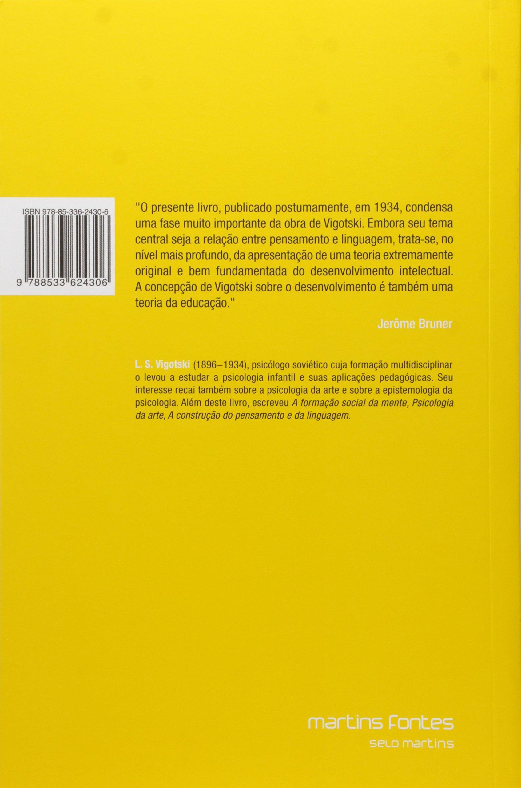 e731d9f2a36 Pensamento e Linguagem - 9788533624306 - Livros na Amazon Brasil