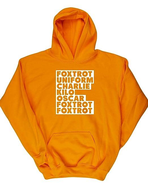 HippoWarehouse FOXTROT UNIFORM CHARLIE KILO jersey sudadera suéter derportiva unisex niños niñas: Amazon.es: Ropa y accesorios