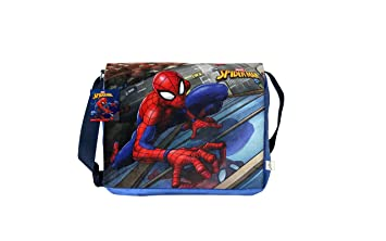 Image Unavailable. Image not available for. Colour  Soft Buddies Spiderman  Sling Bag D17003 3c93e9f05cb06