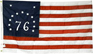 product image for 3x5' Bennington 76 Flag, Embroidered Stars and Numbers, All-Weather Outdoor Nylon, Made in USA