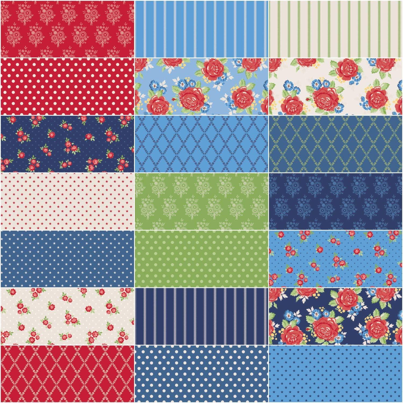 Amanda Herring Harry /& Alice 10 Stacker 42 10-inch Squares Layer Cake Penny Rose Fabrics