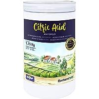 NortemBio Ácido Cítrico 1,15 Kg. Polvo Anhidro, 100%