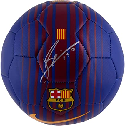 b6abc143a30 Lionel Messi Barcelona Autographed Soccer Ball - ICONS - Fanatics Authentic  Certified - Autographed Soccer Balls