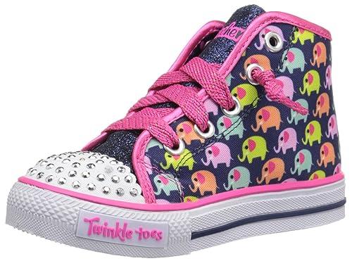 Twinkle Toes by Skechers Cheerful Chuckles Niña US 5 Azul Zapatillas: Amazon.es: Zapatos y complementos