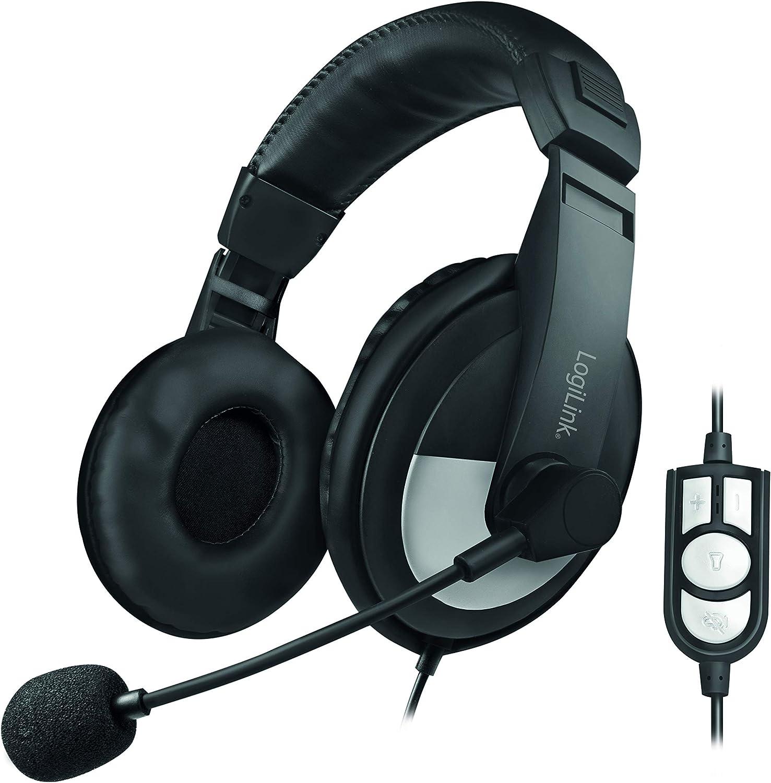 Auriculares LogiLink HS0019 por 15,13€