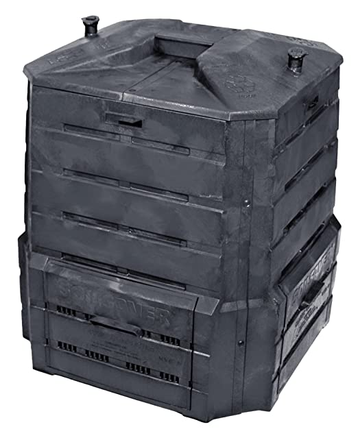 Algreen Products Classic de Ahorro de Suelo Compost Bin: Amazon.es ...