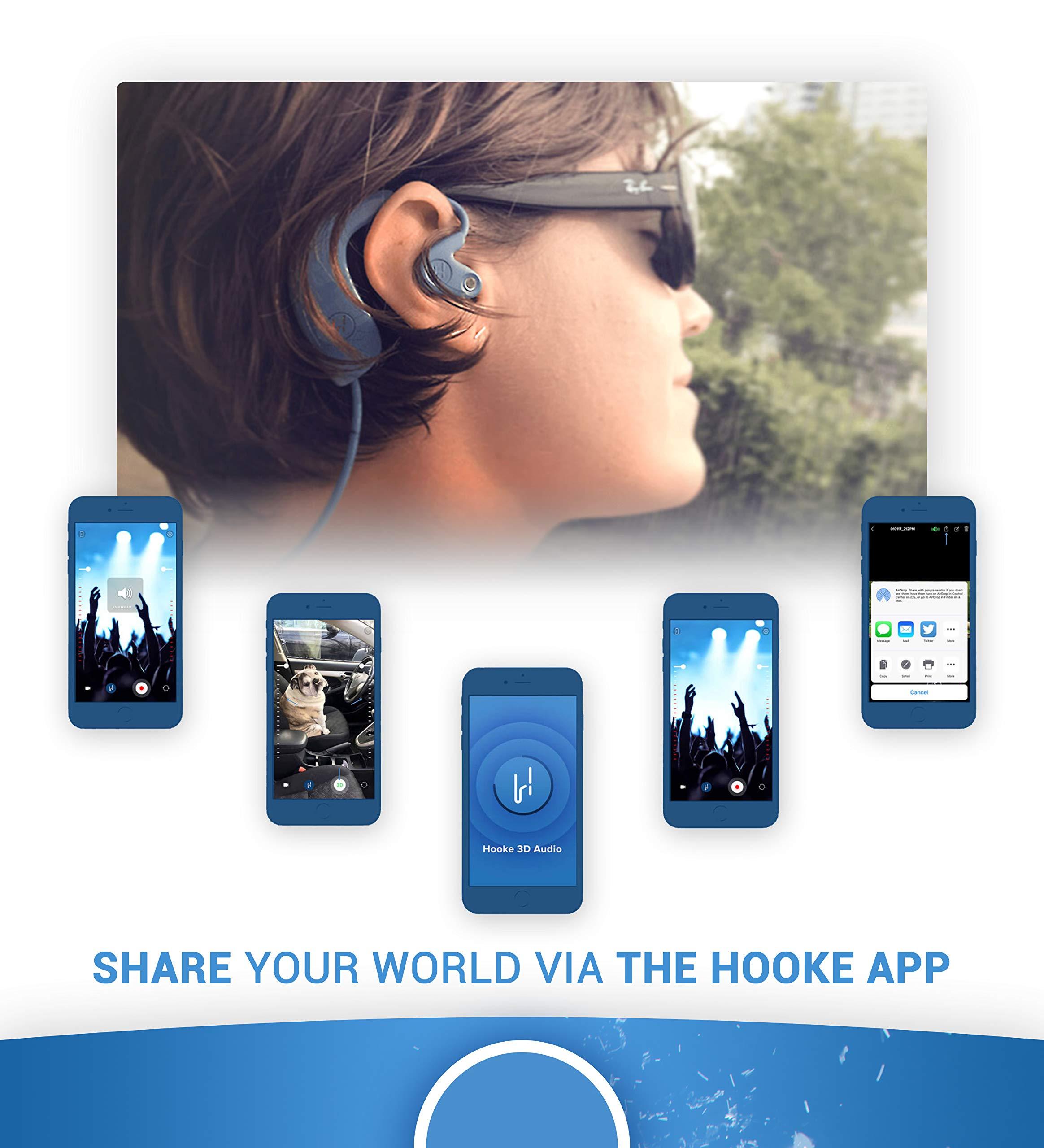 Hooke Verse - Bluetooth Headphones with Built in Binaural 3D