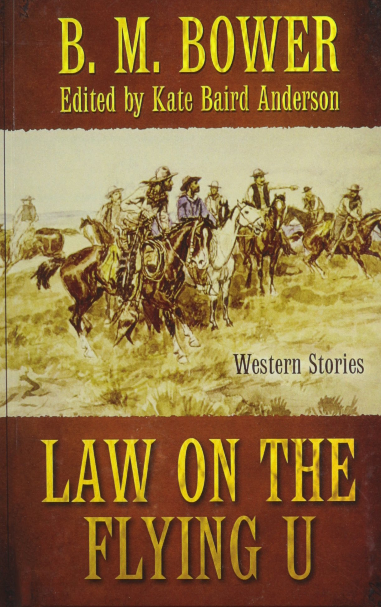 Law On The Flying U (Wheeler Publishing Large Print Western) pdf