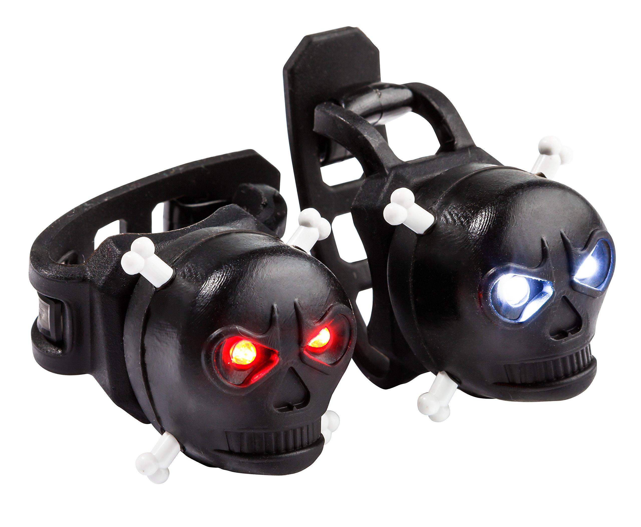 Schwinn Mongoose Skull Lights, Black