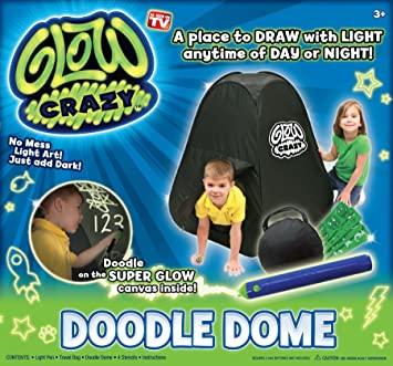 Glow Crazy Doodle Dome Tent Toy  sc 1 st  Amazon.com : crazy tents amazon - memphite.com