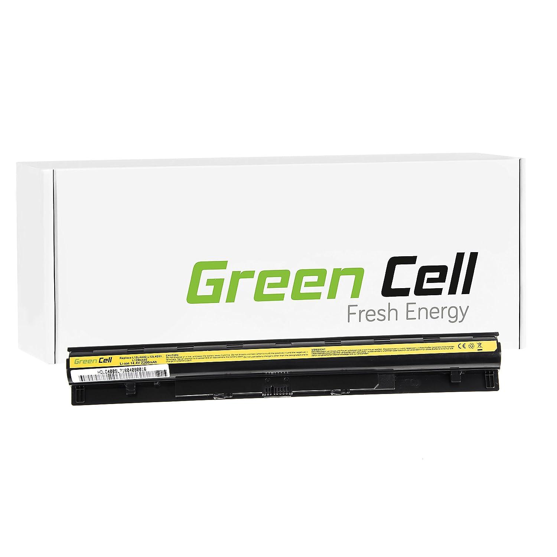 8 Celdas 4400mAh 14.8V Negro Green Cell/® Extended Serie Bater/ía para Lenovo G50-70 Ordenador