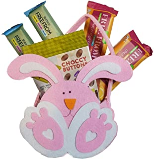 Dairy free chocolate easter lamb gift basket vegan gluten free gift dairy free chocolate easter bunny gift basket vegan gluten free gift negle Images