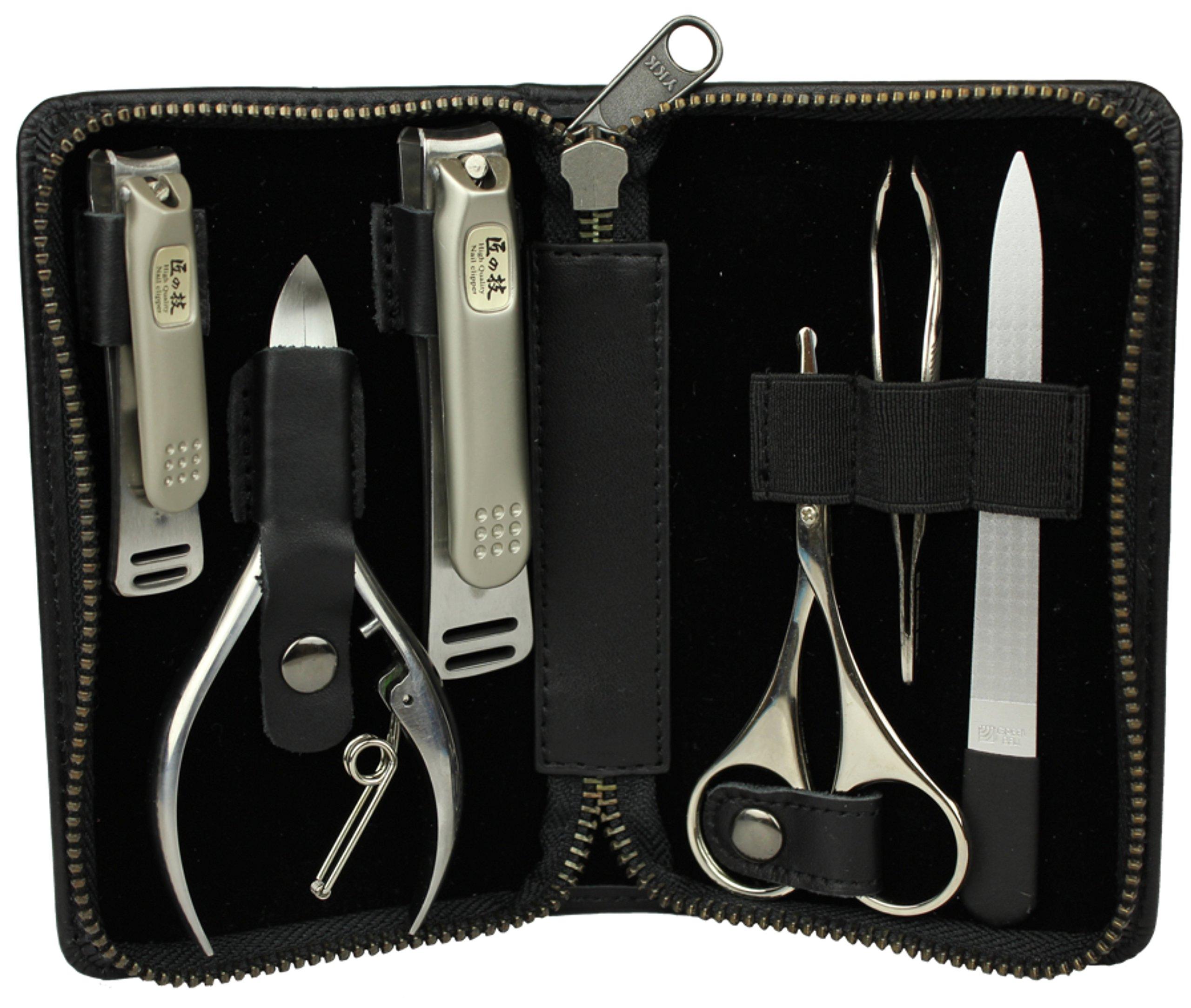 Takumi No Waza G-3103 - Craftsman Luxury 6-Piece Grooming Kit