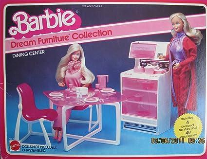 Fantastic Amazon Com Barbie Dream Furniture Collection Dining Download Free Architecture Designs Itiscsunscenecom