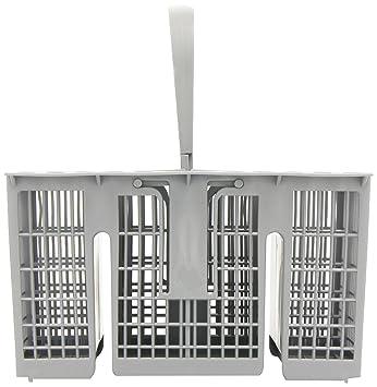 Indesit - Cesta para meter los cubiertos en lavavajillas HotPoint, color gris: Amazon.es: Grandes electrodomésticos