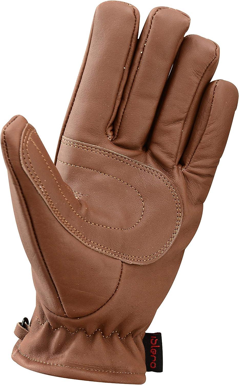 Islero Premium Leather Gloves Motorbike Motorcycle Riding Fashion All Weather