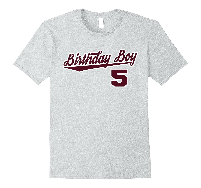 5th Birthday Boy 5 Years Old T Shirt