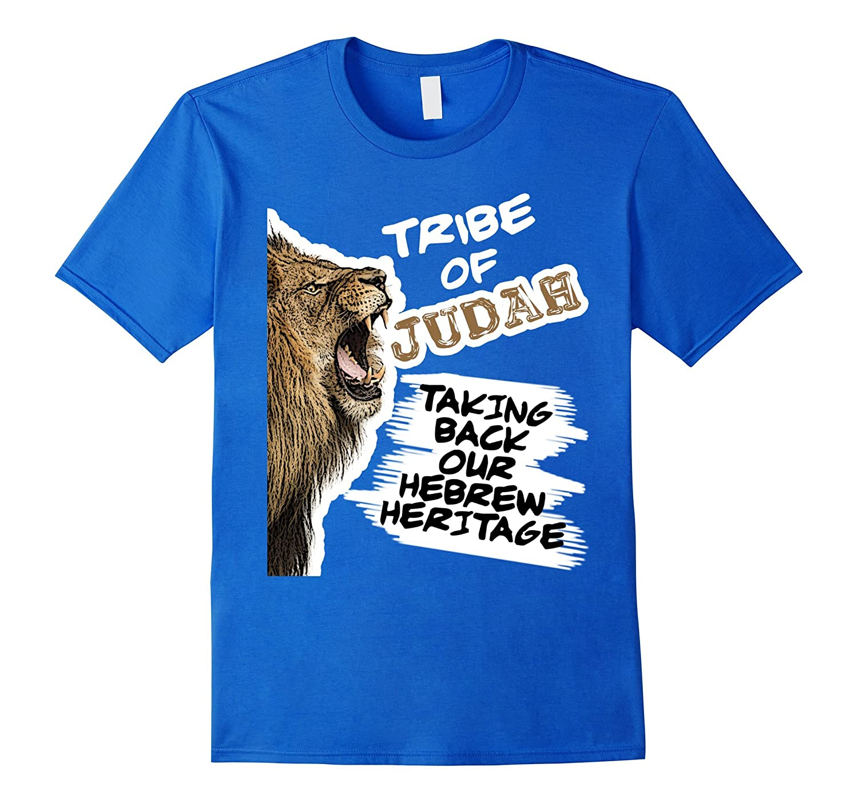 Hebrew Israelite 12 Tribes Judah Lion Bible History T-Shirt