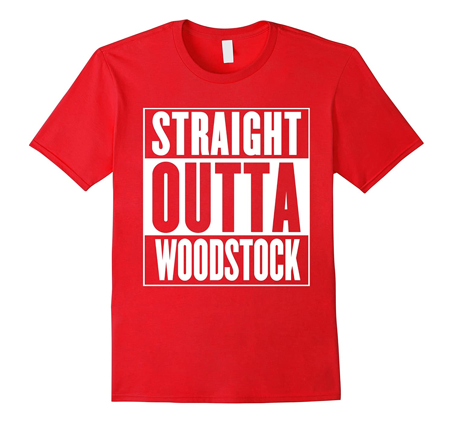 Straight Outta Woodstock Shirt-CL