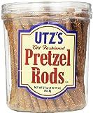 Utz Old Fashioned Pretzel Rods, 27 oz Barrel