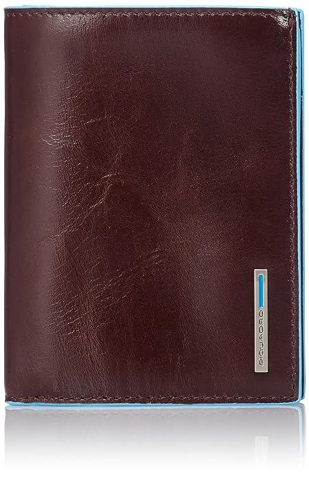 38857b77f6 Portafoglio uomo verticale, con porta documenti,: Amazon.it: Valigeria