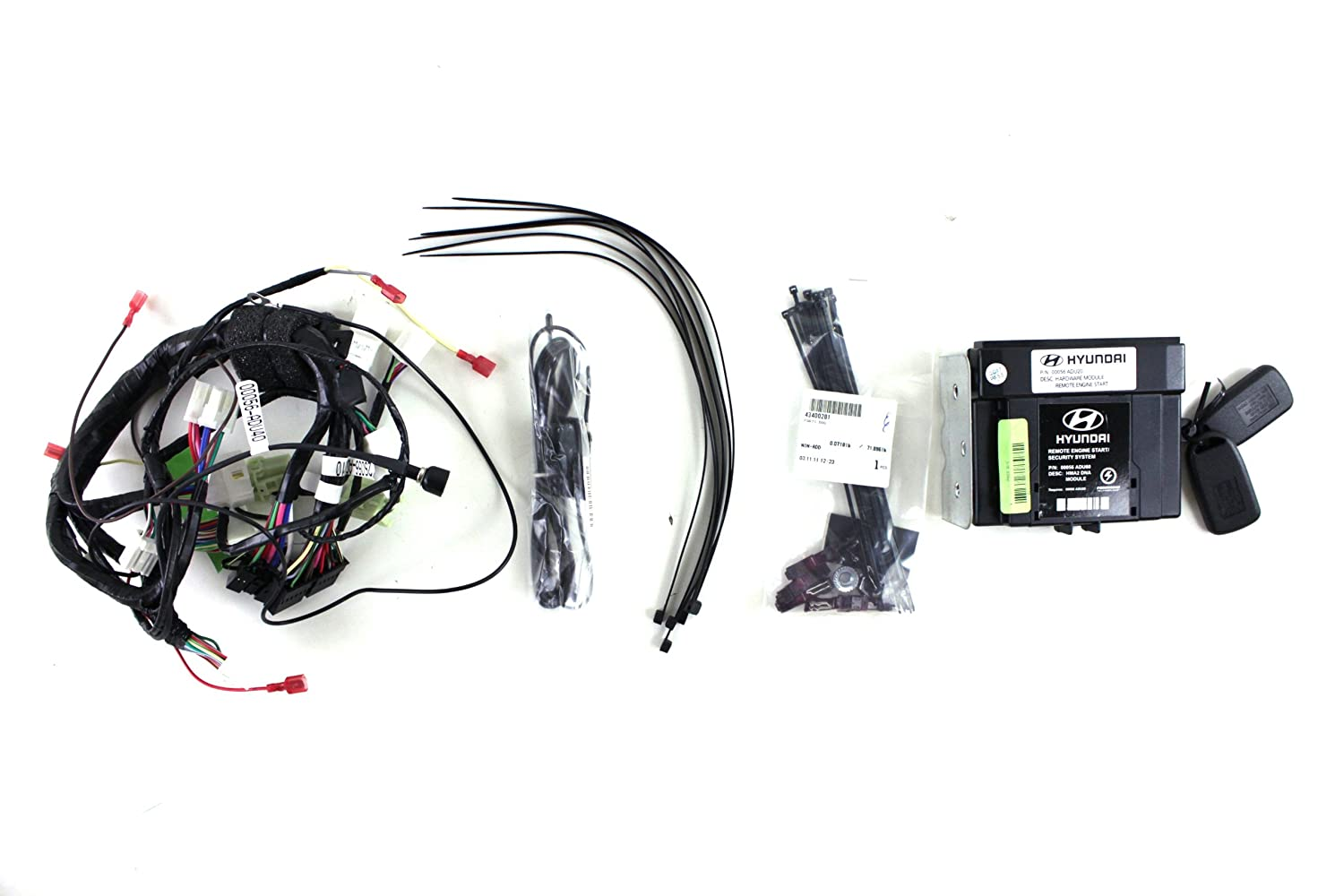 Hyundai Genuine Accessories 2s056 Adu00 Remote Start Kit Electrical Wiring Tucson Automotive